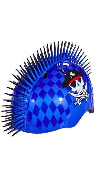 C-Preme Raskullz Eyepatch Pirate Mohawk helm blauw